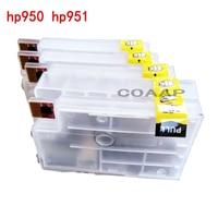 4PCS Refillable Hp 950 951 Empty Cartridge For Officejet Pro 8600 Premium E AIO Printer N911
