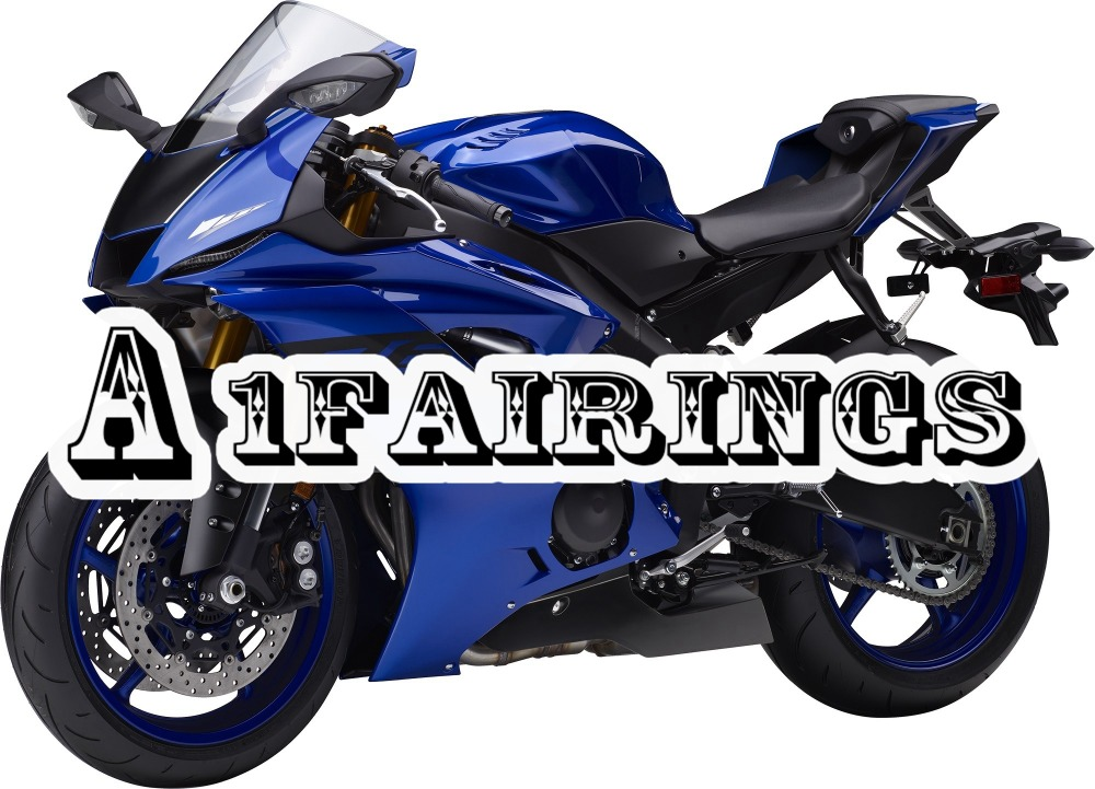 Gloss Blue Fairings YZF R6 2017 2018 Year ABS Motorcycle Fairing For