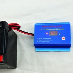 Image 2 - 12V 24V System baterii konserwator odsiarczający odmławiacz przywróć baterię 12V   72V