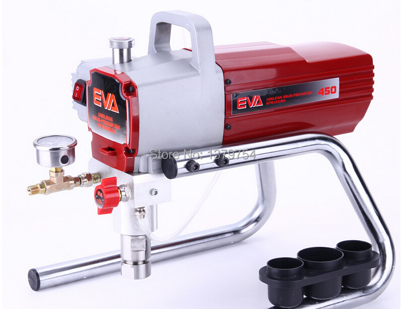 Professional High quality  Airless Spray Gun electric Paint Sprayer XKX450 Machine with 50cm extend pole 519/521 Nozzle Tips