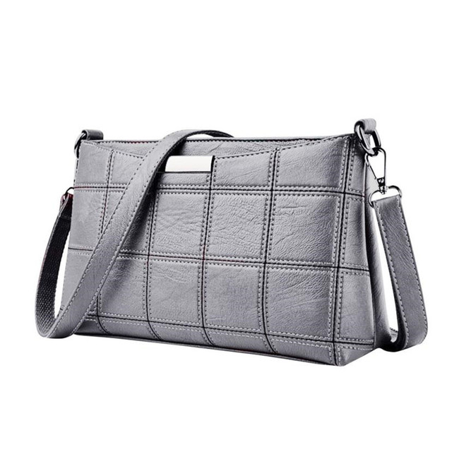 Women's Solid Leather Shoulder Bag