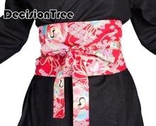 2019 summer print wide belt for women sashes kimono high waist cummerbund female collocation japanese designer цена в Москве и Питере
