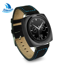 Bluetooth 4.0 Smart SIM TF Card Heart Rate Pedometer Sleep fitness Monitor Sedentary Reminder Watch Wristwatch for Android IOS