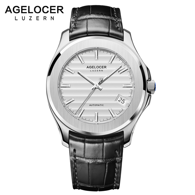 AGELOCER Switzerland Brand New Creative Men Watches 2018 Power Reserve 80 Hours Business Watch Men Fashion Relogio Masculino