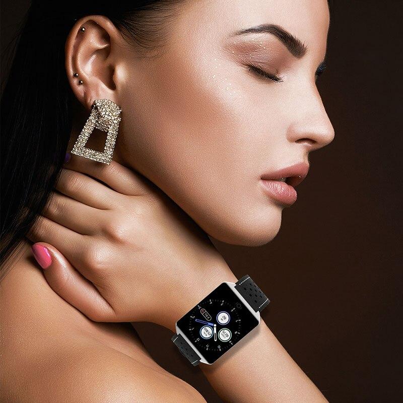 Pedometer Smartwatch Sport-Calorie Bracelet Heart-Rate Waterproof Men Women Man Monitor