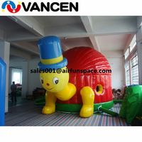Funny inflatable animal bouncer litter tortoise design jumping castle 4m diameter PVC durable inflatable bouncy animal house