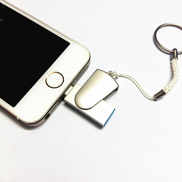 Sufficient i-Flash Drive 32gb 64gb Usb Metal Pen Drive /Otg Usb Flash Drive For iPhone 6/6s/6s/7/7 Plus/ i-Flashdrive Pendrive