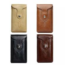 SZLHRSD Belt Clip PU Leather Waist Holder Flip Cover Pouch Case for Oukitel U7 Max/K6000 Plus K10000 K4000 Plus(China)