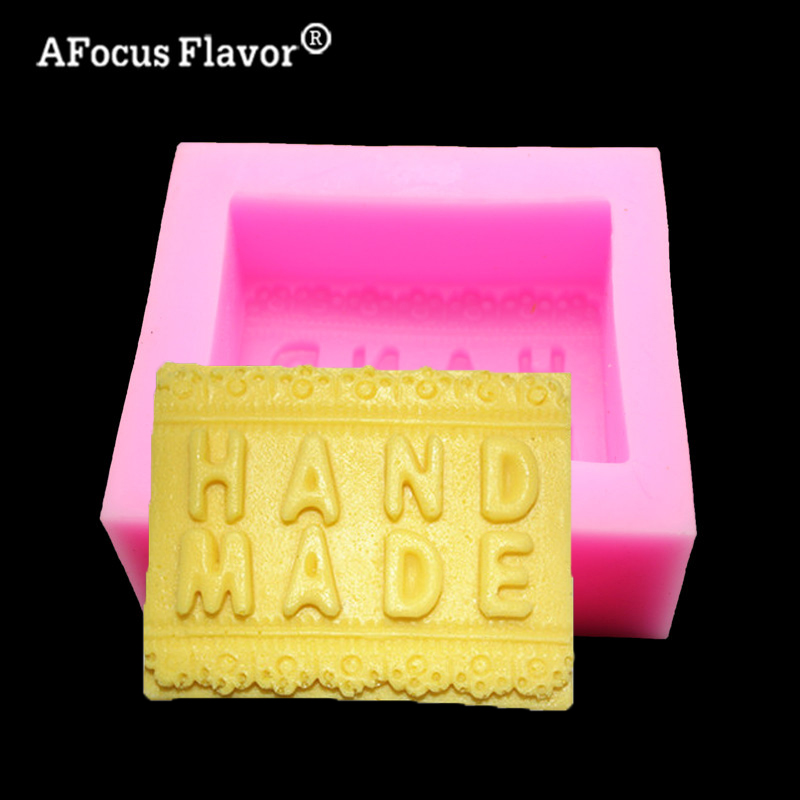 1 Pc DIY Handmade Soap Silicone Mold Arts Crafts Chocolate Cake Decoration Craft Baking Molding Molde De Silicone Candle Molds
