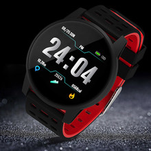 Cheep Bluetooth Android/IOS Phones Sport Health Smart Watch Waterproof IP67 Smartwatch Fitness Tracker for Men Women(China)
