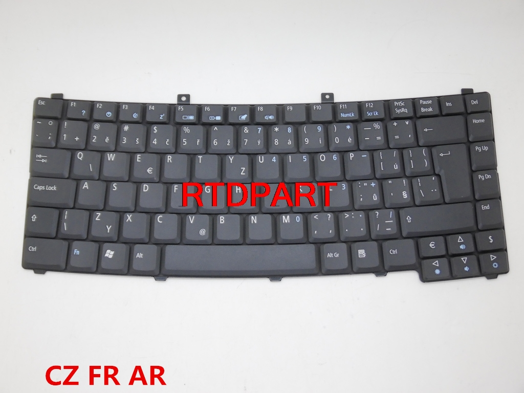 Laptop Keyboard For ACER TM3300 Czech CZSK FRENCH FR ARABIC AR 9J.N7082.N13 9J.N7082.N0F 9J.N7082.N0A 9J.N7082.N0WNSK-AEN0W