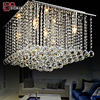 Hot Selling Modern Lustre Square Crystal Chandelier Lighting Home Lamp L500 W500 H400mm