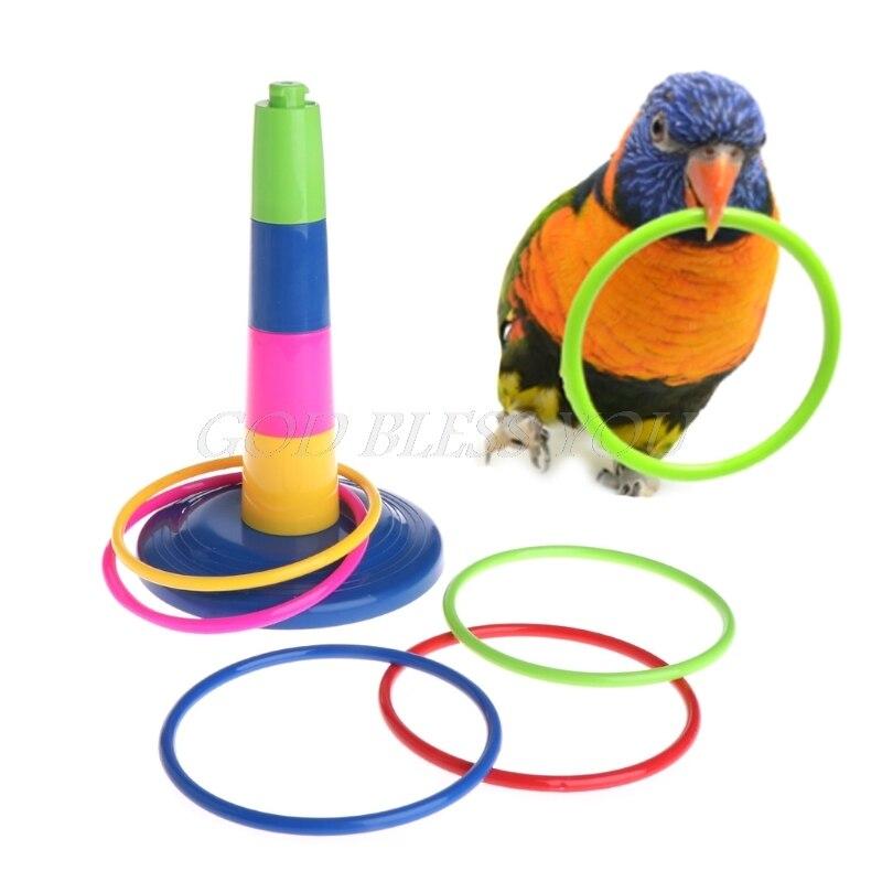 Parrot Toy Intelligence Development Educational Interactive Bird Training Puzzle