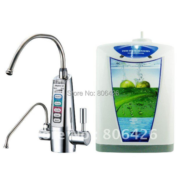 US $450 0 |Freeshipping undersink kangen ionizer/hydrogenwater/cathodic  water/alkali ion water (JapanTechTaiwan factory)+built in NSFfilter-in  Water