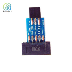 10Pin Zu 6PiN Konvertieren Zu Standard 10 Pin Zu 6 Pin Adapter Board Für ATMEL STK500 AVRISP USBASP ISP Interface konverter AVR