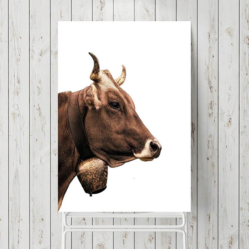 Schon Minimalistischen Bauernhaus Tier Poster Holz Wand Kunst Goldenen Weizen  Leinwand Druck Malerei Esszimmer Küche Zimmer Moderne Wohnkultur