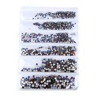 новый 22 цвета сс3-для ss10 малых размеров звезды дизайн ногтей кристалл стекло звезды для гвозди 3д дизайн ногтей украшения дракона камни