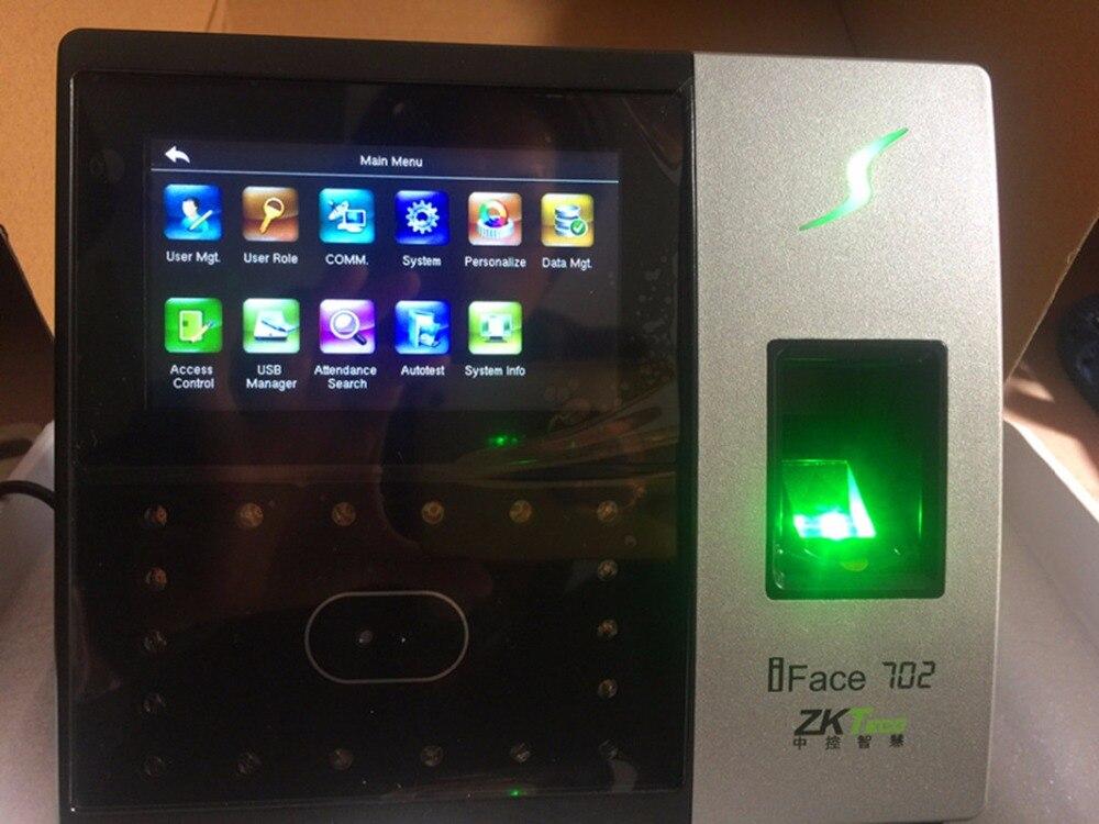 iface702 Biometric 400 Face fingerprint access controller Employee Time Attendance Office Door Entrance Control Anti-move Device