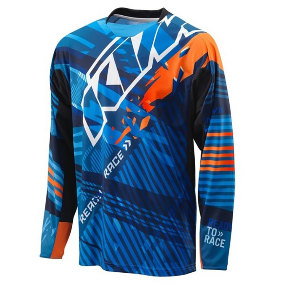 KTM NEW Motorcycle Jerseys for Motorcycle GP Mountain Bike Motocross Jersey XC BMX DH MTB T Shirt Clothes(China)