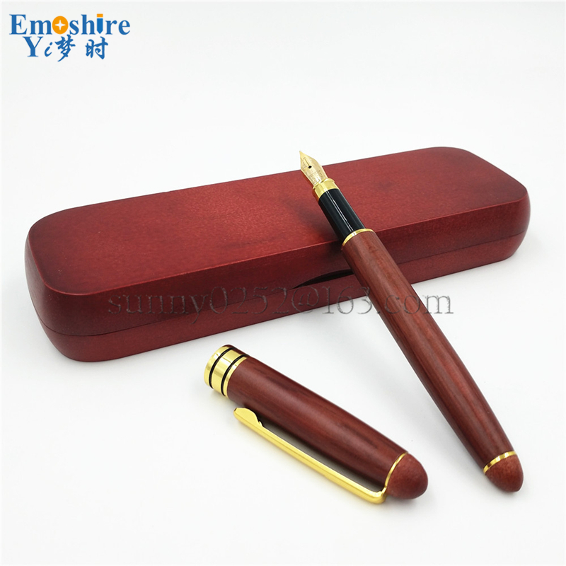 Top Branding Fountain Pen Classic Wooden Fountain Pen for School Office Writing Supplies Top Quality Wooden Pencil Case 111 дмитриева в сост первая книга для чтения после букваря