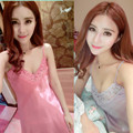 Sexy Girl Sexy Lace Nightdress Summer City Woman Temptation Nightwear Halter Home Furnishing Skirt Suit Sexy Lingerie Sleepwear