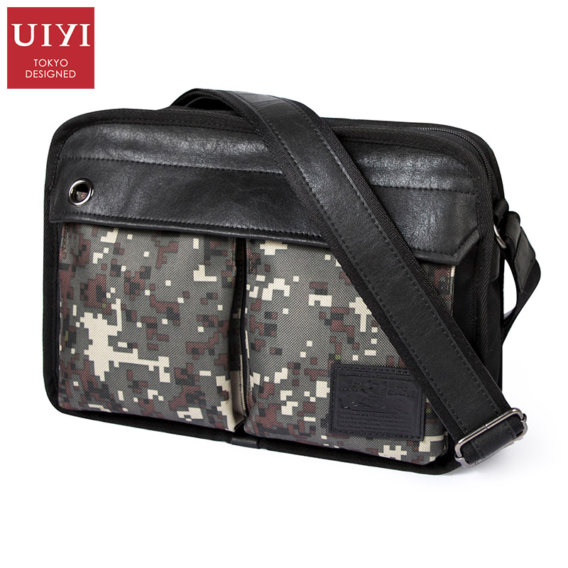 UIYI Brand New Men's Messenger Bags Men Casual Portable Bag Male Shoulder Cross body Bag Canvas Handbag Men Fashion Handbags deelfel new brand shoulder bags for men messenger bags male cross body bag casual men commercial briefcase bag designer handbags