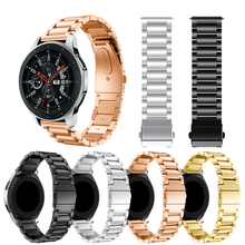 Stainless Steel Quick Release Watch Band Strap For Samsung Galaxy 46 42mm Strap For Samsung Gear S3 smart WatchBand bracelet stainless steel bracelet wrist band strap for samsung galaxy gear s sm r750 watchband smart watch tpu holder adjustable length