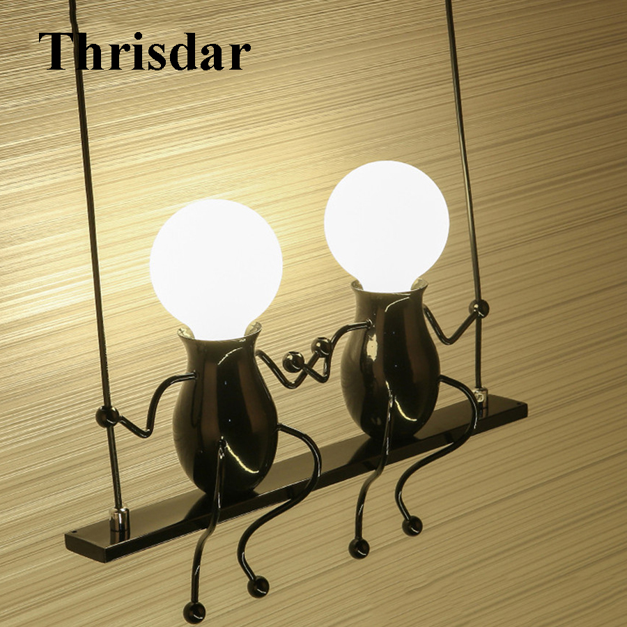 цена на Thrisdar E27 Cartoon Kids Wall Light LED Children Bedroom Study Wall Light Creative Bedside Corridor Aisle Balcony Home Light