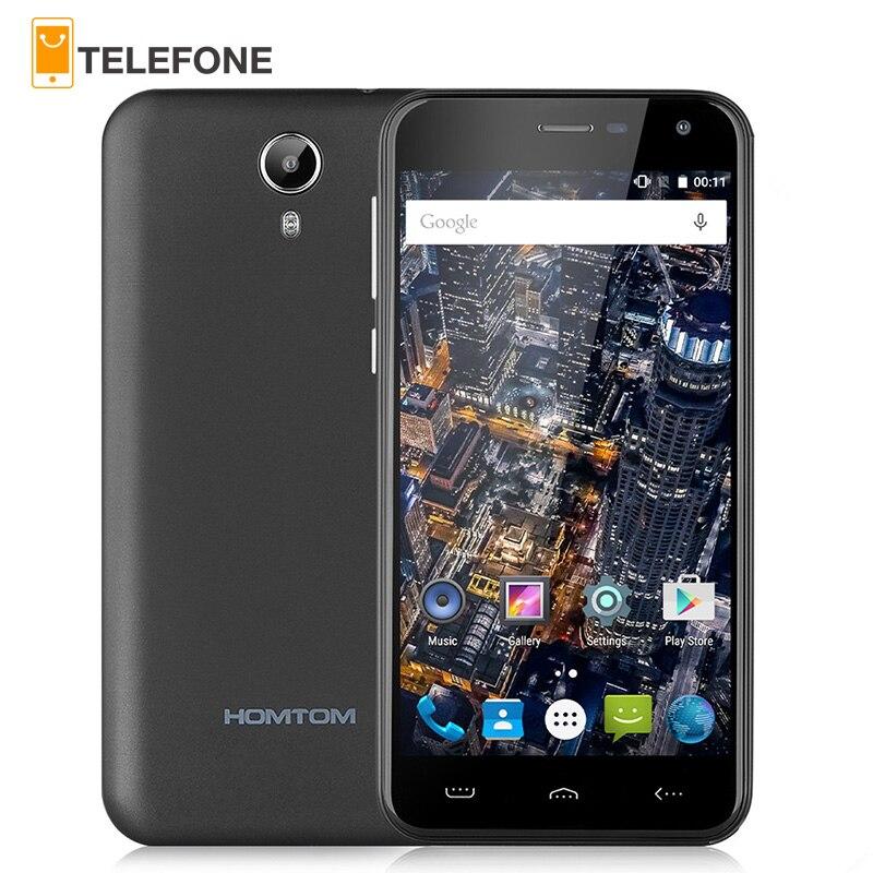 bilder für Original HOMTOM HT3 MTK6580 Quad Core Smartphone 5,0 zoll Android 5,1 Handy 1 GB RAM 8 GB ROM 3000 mAh Batterie Mobile telefon