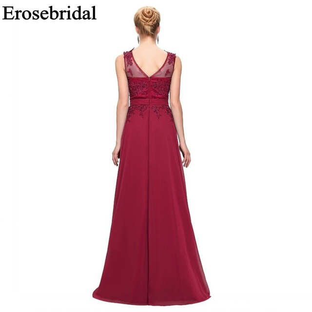 2019 Evening Dresses Long Evening Party Dresses Elegant Formal Dresses Evening Gown for Women Occasion 3