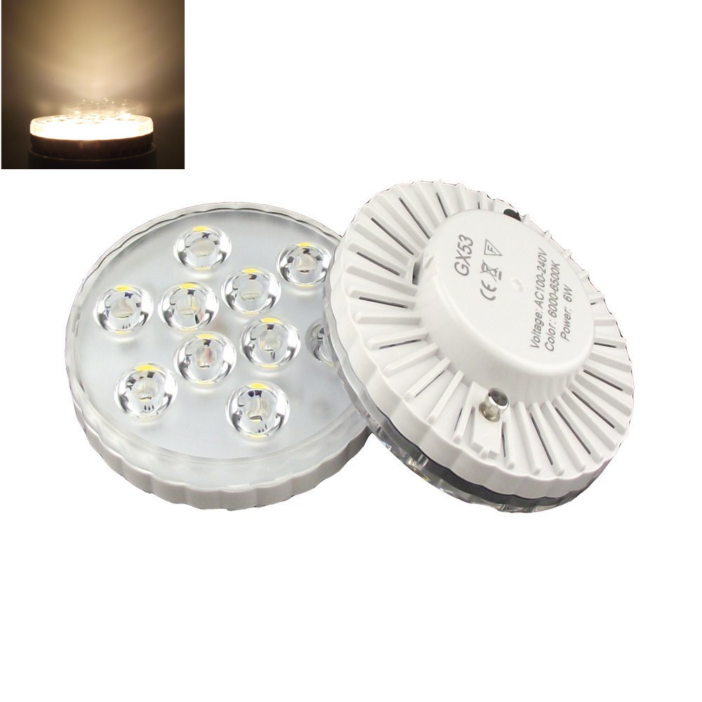 Super bright led under cabinet lighting - Gx53 Led Cabinet Light Super Bright Smd 5730 Gx53 Led Lamp 480lm 5watt 110v 220v Gx53