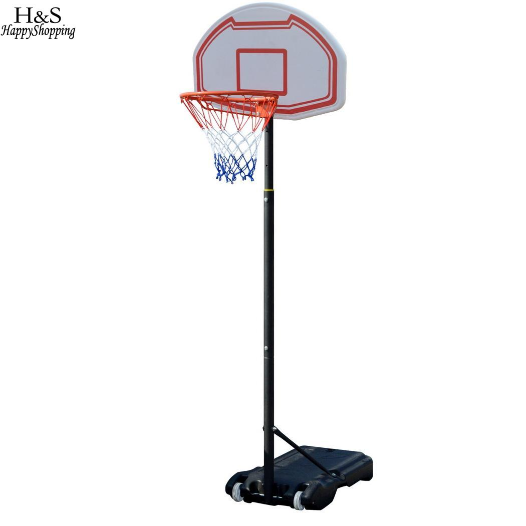 9KG 205 16 165 Adjustable Indoor System 6inch Outdoor Hoop 245cm Stand Height Youth Basketball 4cm 205cm 4inch 42cm Goal 1 Net kao 0 9kg