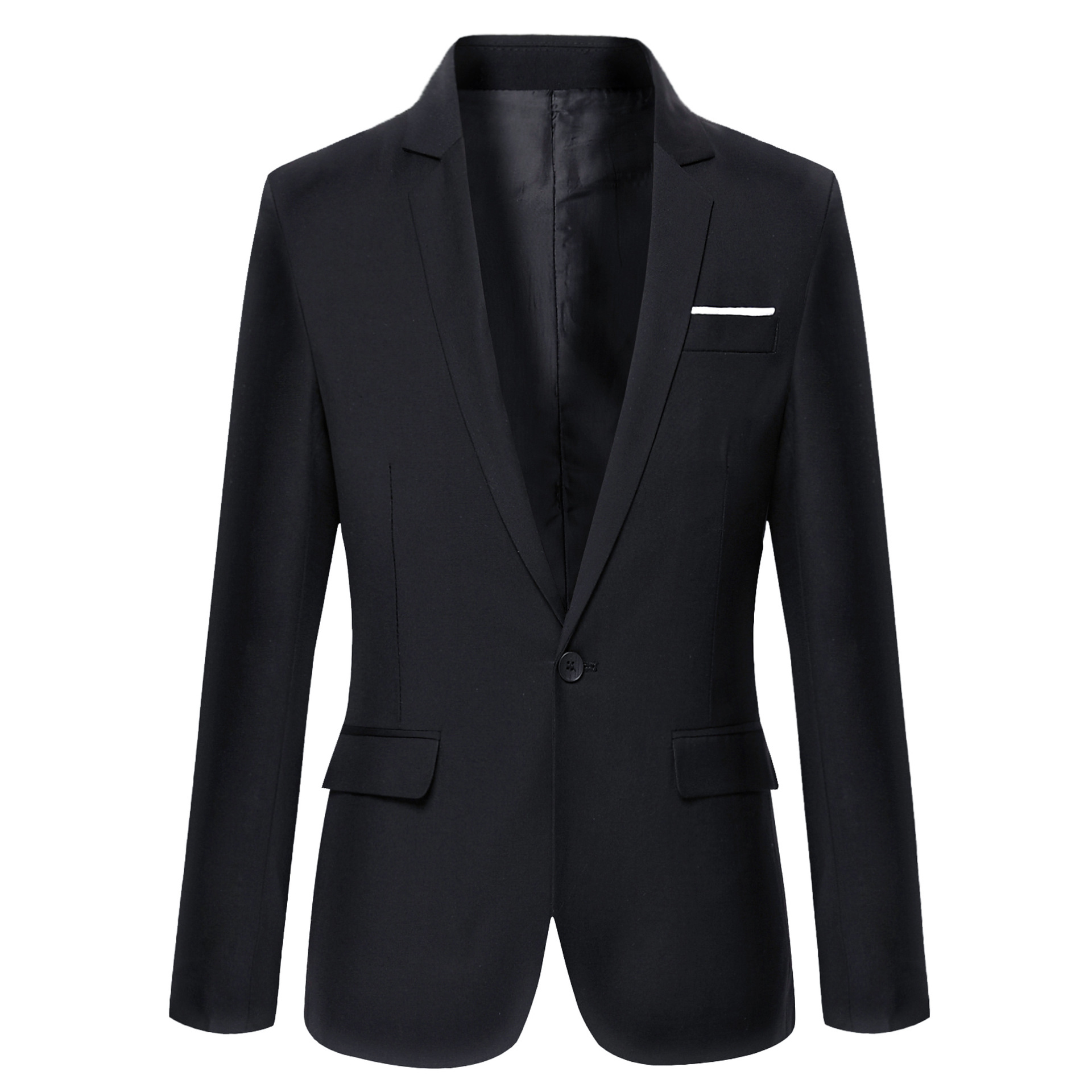 2017 Clothing Autumn Suit Blazer Men Fashion Slim Fit Male Suits Casual Solid Color Masculine Blazer Size M-4Xl