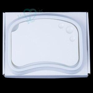 Image 1 - Nowy 1PC laboratorium dentystyczne paleta ceramiczna porcelana mieszanie podlewanie płyta mokra taca
