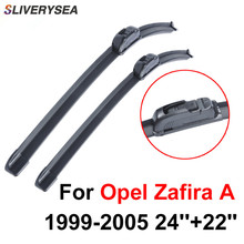 QEEPEI Wiper Blade For Opel Zafira A 1999-2005 24''+22'' High Quality Iso9000 Natural Rubber Clean Front Windshield CPU101-3 qeepei front wiper blades for fiat ducato 2006 2016 pair 26 22 high quality natural rubber clean windshield wiper cpc114