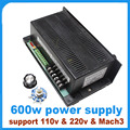 2016 Sale Rushed 600w Engraving Machine Spindle Speed Control Power Supply Support Mach3 Ontrol 110v Or 220v Motor 1pcs