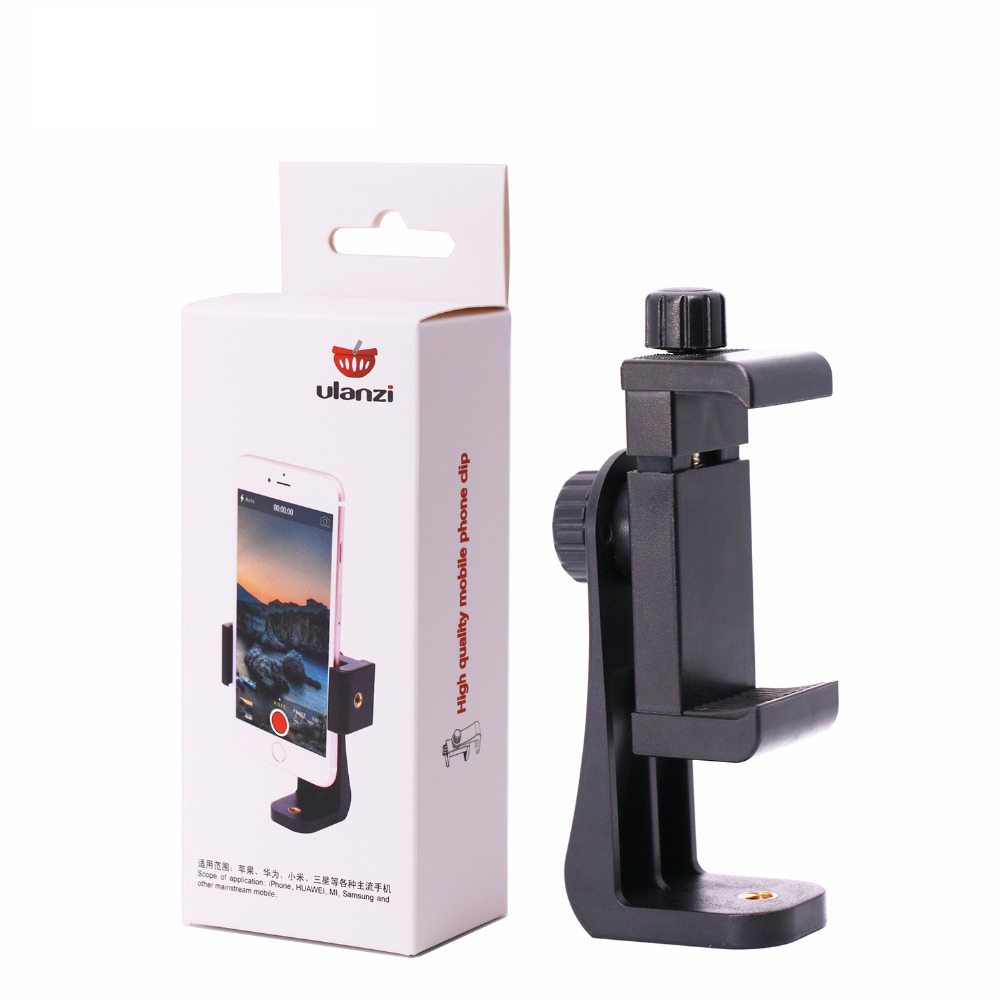 Universal Phone Tripod Mount Adapter Mobiltelefon Clipper Holder - Kamera og foto - Foto 6