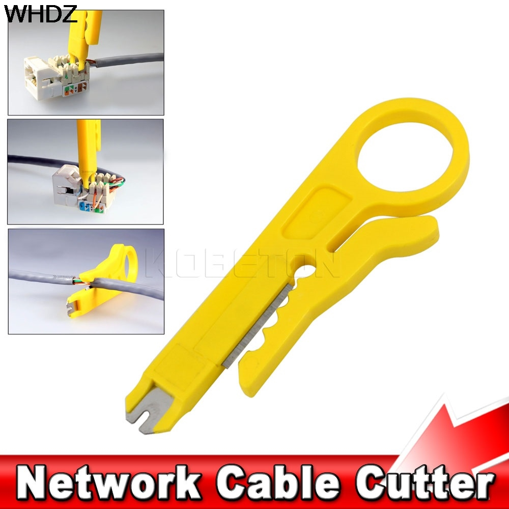 Pliers New Mini Rotary Punch Down Network Utp Cable Cutter Punch Down Wire Tool Strippers Stp Cable Cutter Telephone Wire Stripper Hand Tools