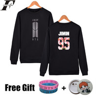 BTS Bangtan Boys Sweatshirt Women Hoodies K POP Long Sleeve Women Hoodies Sweatshirts Brand Black Fashion