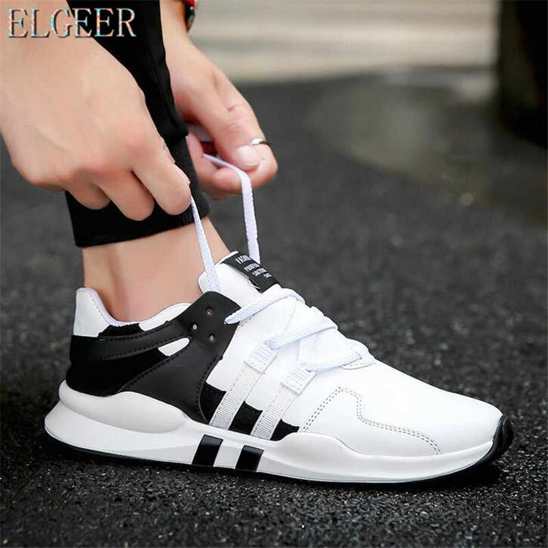 6b72797fc184 ELGEER men sneakers shoes Hot 2018 spring Lightweight fashion Autumn famous  brand Lace-up Style