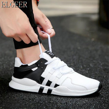 ELGEER men sneakers shoes Hot 2018 spring Lightweight fashion Autumn famous brand Lace-up Style Shoes Comfortable Casual Style men sneakers 2019 spring krasovki lightweight fashion man shoes famous brand shoes comfortable casual men shoes adult footwear