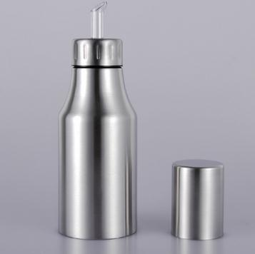 stainless steel oil dispenser leak proof oiler kitchen supplies cruet olive oil bottle 3. Black Bedroom Furniture Sets. Home Design Ideas