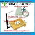 Conjuntos completos de Banda Dupla GSM 4G Repetidor GSM 900 4G LTE 1800 FDD Ganho de 65dB GSM 900 mhz DCS 1800 mhz Sinal Móvel Celular Booster