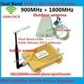 Juegos completos de Doble Banda GSM 4G Repetidor GSM 900 4G LTE 1800 FDD Ganancia 65dB GSM 900 mhz DCS 1800 mhz Señal Móvil Celular Booster