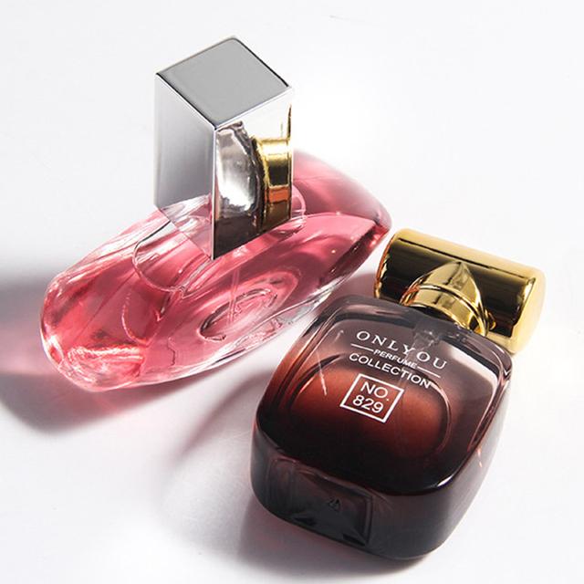 Brand  Women 30ML Fragrance Long Lasting For Female Fragrance Natural Rose Flavor Lady Glass Bottle Atomizer Water