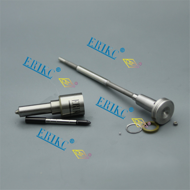ERIKC F00VC01349 Overhaul Repair Common Rail Injector Repair Kits Nozzle DLLA155P1493 Valve for injector 0445110250 30637375