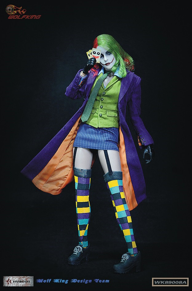 1/6th scale figure doll Collectible model plastic toy female Joker 12 Action figure doll 1 6 scale figure doll terminator3 rise of the machines fembot t x 12 action figure doll collectible model plastic toy