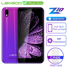 "LEAGOO Z10 אנדרואיד טלפון נייד 5.0 ""18:9 מלא מסך 1GB RAM 8GB ROM MT6580 Quad Core 2000mAh 5MP מצלמה Dual SIM 3G Smartphone(China)"