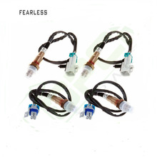 For Silverado Sierra Suburban Tahoe Yukon Oxygen Sensor Upstream Downstream 4PCS цена и фото