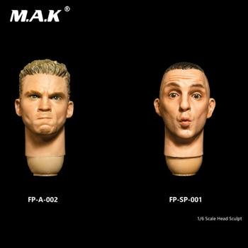"1//6 Facepoolfigure FPD002 Man Head Sculpt Carved PVC Model Fit 12/"" Action Figure"